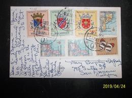 Mocambique, Portugal: 1961 PPC To San Francisco, California (#JQ8) - Mozambique