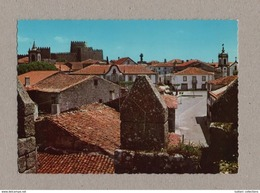 Postcard 1970years TRANCOSO View & Castle PORTUGAL BEIRA ALTA Monuments Z1 - Cartes Postales