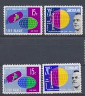Suriname/Surinam 1961 Mi: 406+407 + A Yt: TA26-27 Nvph: LP33-34 + 33a-34a (PF/MNH/Neuf Sans Ch/nuovo Senza C./**)(4406) - Suriname ... - 1975