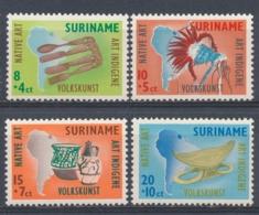 Suriname/Surinam 1960 Mi: 371-374 Yt: 328-331 Nvph: 336-339 (PF/MNH/Neuf Sans Ch/nuovo Senza C./**)(4407) - Suriname ... - 1975