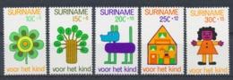 Suriname/Surinam 1973 Mi: 658-662 Nvph: 607-611 (PF/MNH/Neuf Sans Ch/nuovo Senza C./**)(4408) - Suriname ... - 1975
