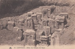 Carthage - Stèles Du Temple De Tanit - Tunisia