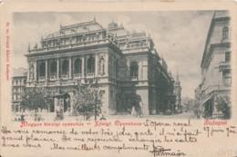 Budapest - Magyar Kiralyi Operahaus - Ungheria