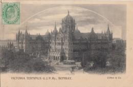 Bombay - Victoria Terminus G.J.P.Ry. - India