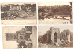 FOUR CHEPSTOW MONMOUTHSHIRE WALES POSTCARDS - Monmouthshire