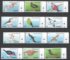 VV369 2013 SAMOA FAUNA BIRDS !!! #1105-16 MICHEL 47 EURO 1SET MNH - Oiseaux