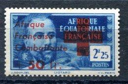 AEF Surcharge Afrique Française Combattante - Yvert 165 - Maury 169 - Neuf XXX - T 865 - Neufs