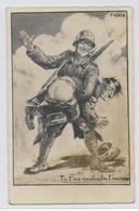 GUERRE 39/45 - PROPAGANDE ANTI-NAZIE - ILLUSTRATEUR FAÏNO - Guerre 1939-45