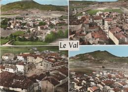 Var : LE VAL : Vue Aérienne - Vue Générale - Centre Du Pays - Multivues - ( C.p.s.m. - Photo Vérit.- Grand Format ) - France