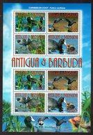 WWF Antigua & Barbuda Kleinbogen Enten - W.W.F.