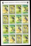 WWF Zentralafrika Kleinbogen Vögel - W.W.F.
