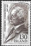 ICELAND 1979 Famous Icelanders - 130k. Sveinbjorn Sveinbjornson (composer) FU - 1944-... Republique