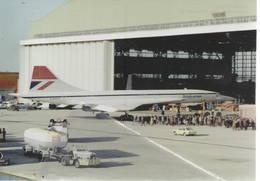Aerospatiale BAC Concorde 102 Supersonico British Airways G-BOAC - 1946-....: Era Moderna