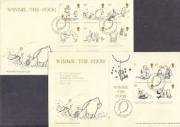 Great Britain 2010 Children's Books - Winnie The Pooh Europa CEPT FDC - Europa-CEPT