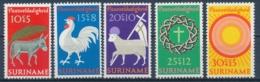 Suriname/Surinam 1971 Mi: 596-600 Yt: 534-538 Nvph: 556-560 (PF/MNH/Neuf Sans Ch/nuovo Senza C./**)(4411) - Suriname ... - 1975