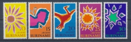 Suriname/Surinam 1970 Mi: 570-574 Nvph: 529-533 (PF/MNH/Neuf Sans Ch/nuovo Senza C./**)(4415) - Suriname ... - 1975