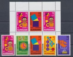 Suriname/Surinam 1972 Mi: 638-642 + Block 12 Nvph: 586-590 + 591 (PF/MNH/Neuf Sans Ch/nuovo Senza C./**)(4422) - Suriname ... - 1975