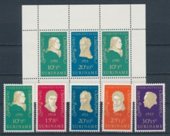 Suriname/Surinam 1970 Mi: 588-592 + Block 10 Nvph: 547-551 + 552 (PF/MNH/Neuf Sans Ch/nuovo Senza C./**)(4423) - Suriname ... - 1975