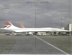 BAC Concorde 102 Aerospatiale Supersonico British Airways G-BOAA At London Heathrow Airport - 1946-....: Era Moderna
