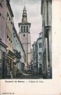 Belgique -  Namur - Souvenir De Namur - L' Eglise St. Jean - Série 15 N° 48 - Couleurs - Namur