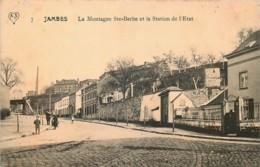 Belgique - Namur - Jambes - La Montagne Ste-Barbe Et La Station De L' Etat - Namur