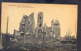 AVELGHEM - Kerk Na Beschieting - L'Eglise Après Le Bombardement - Avelgem