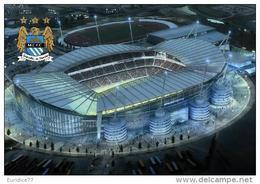 Stadium Etihad Stadium (City Of Manchester) (Manchester City,England) Postcard - Size: 15x10 Cm. Aprox - Fútbol