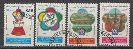 AFGHANISTAN : 1233-36 – (0) – Festival De La Jeunesse 1985 - Afghanistan