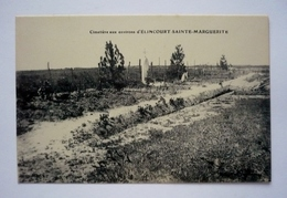 60 - Cimetière Aux Environs D'  ELINCOURT SAINTE MARGUERITE - Cimetières Militaires