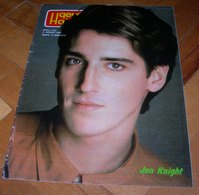 Jonathan Knight Patrick Swayze - DECJE NOVINE Yugoslavian April 1991 VERY RARE - Books, Magazines, Comics
