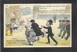 CPA Lépine Préfet De Police Non Circulé Satirique Caricature Inventaire Anticléricalisme - Personnages