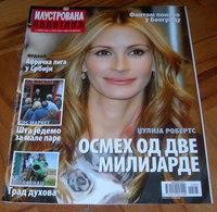Julia Roberts - ILUSTROVANA POLITIKA Serbian April 2006 VERY RARE - Books, Magazines, Comics