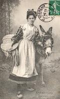BOURBONNAISE ET SON ÂNE  - CHALON SUR SAÔNE - Costumes