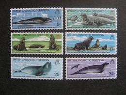 Territoire Antarctique Britannique: TB Série N° 118 Au N° 123, Neufs XX. - Neufs