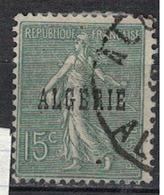 ALGERIE          N°  YVERT      10  OBLITERE       ( O   3/49 ) - Algeria (1924-1962)