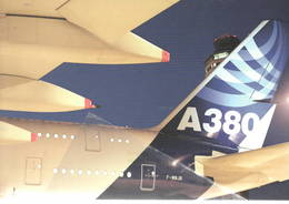 Airbus Industie A380 - F-WWJB - At Virginia's Dulles International Airport IAD - Control Tower - 1946-....: Era Moderna