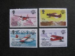 Territoire Antarctique Britannique: TB Série N° 124 Au N° 127, Neufs XX. - Neufs