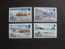 Territoire Antarctique Britannique: TB Série N° 144 Au N° 147, Neufs XX. - Neufs