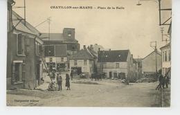 CHATILLON SUR MARNE - Place De La Halle - Châtillon-sur-Marne