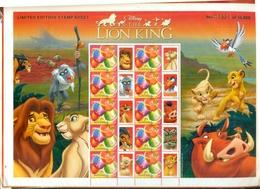 AUSTRALIA THE LION KING 1 BF SPECIAL NEUF A PARTIR DE 2.50 EUROS - Blocs - Feuillets