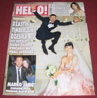 Justin Timberlake Jessica Biel HELLO Serbian November 2012 RARE - Books, Magazines, Comics