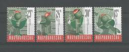 Hungary 1998 Postal Mascot Balint Y.T. 3615/3618 ** - Hongrie