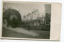AVIATION CARTE PHOTO  Nov 1918 Tuilleries Exposition Ballons Captifs Allemands Et Cadres Dirigeables   D05 2019 - Autres