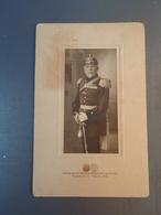 Ancienne Photo Soldat Allemand Photogr-Atelier HERM.KADOW-BEUELARH Brückenstr. 10 Beuel 1914 Cf Verso - War, Military