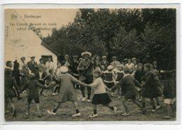 BELGIQUE DUINBERGEN Enfants Dansant La Ronde Autour Du Troubadour écrite En 1924 Timbrée    D05 2019 - Knokke