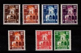 Algerie - Les 7 Musees Du Bardo N** : YV 313A à 314A / 335 / 340A & 341 - Algeria (1924-1962)