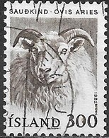 ICELAND 1982 Domestic Animals - 300a Sheep FU - 1944-... Republique