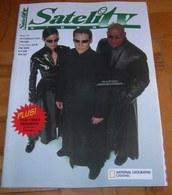 Keanu Reeves Laurence Fishburne Carrie-Anne Moss  SATELIT TV Serbian November 2003 RARE - Books, Magazines, Comics