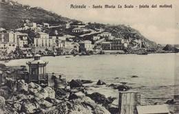 Cartolina Acireale ( Catania ) Santa Maria La Scala Vista Dal Molino - Viaggiata - Catania