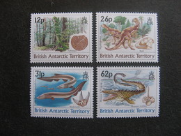Territoire Antarctique Britannique: TB Série N° 193 Au N° 196, Neufs XX. - Neufs